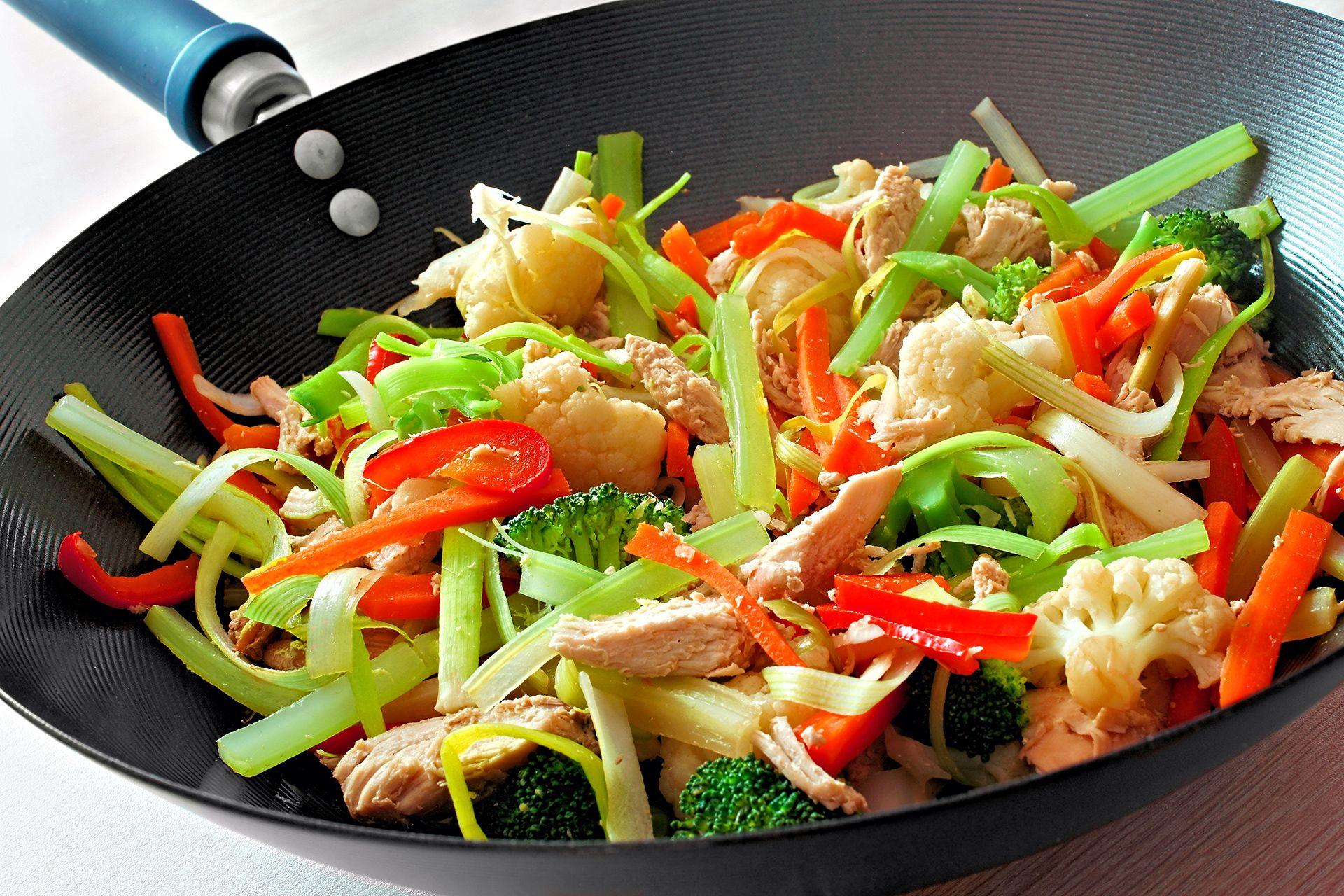 Wok Kochkurs ab 89€ » Leckere Gerichte mit Wok zaubern