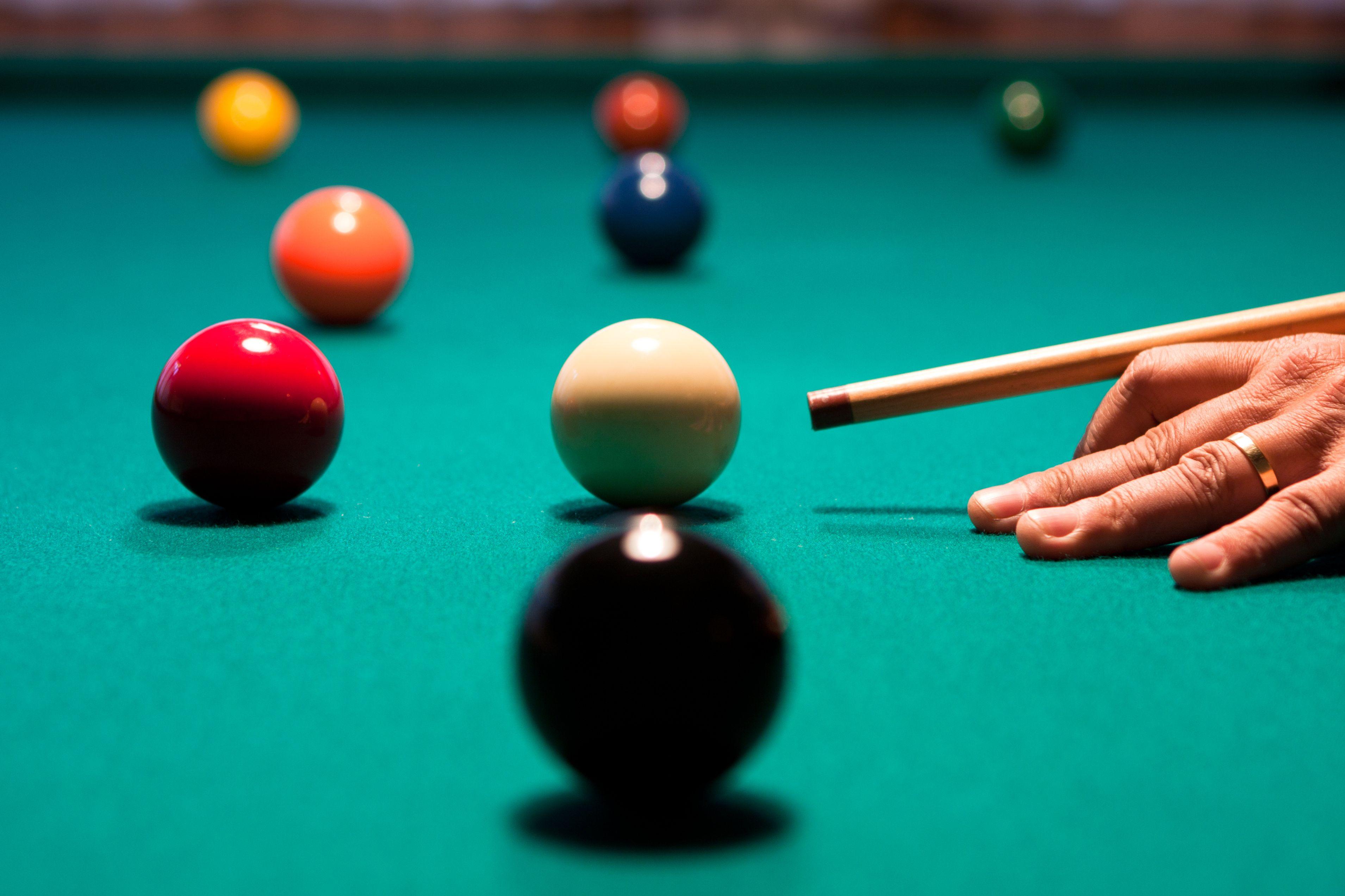Billiard Spielen