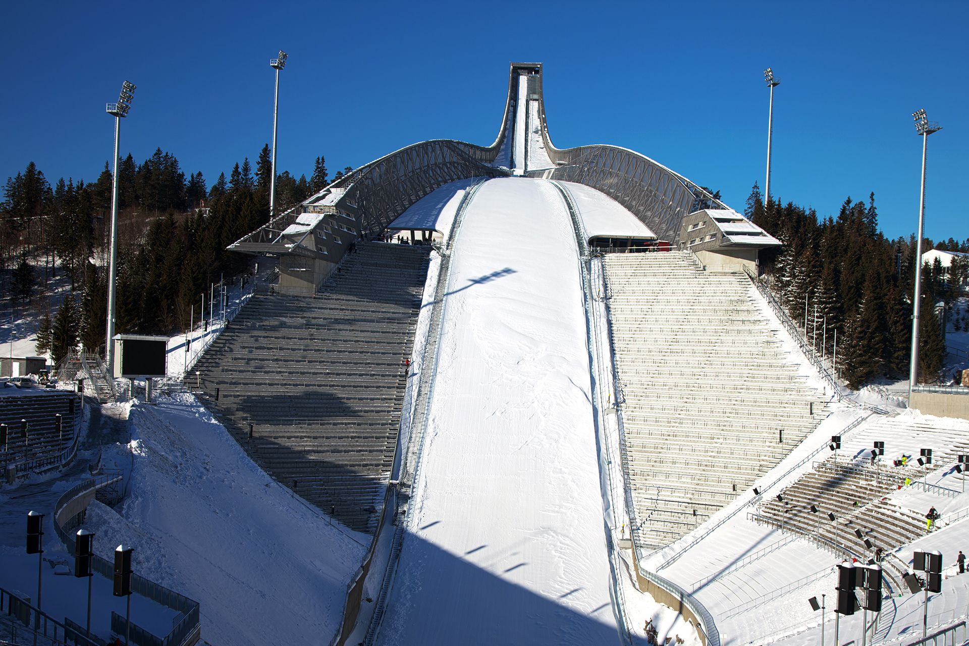 Skispringen Obersdorf
